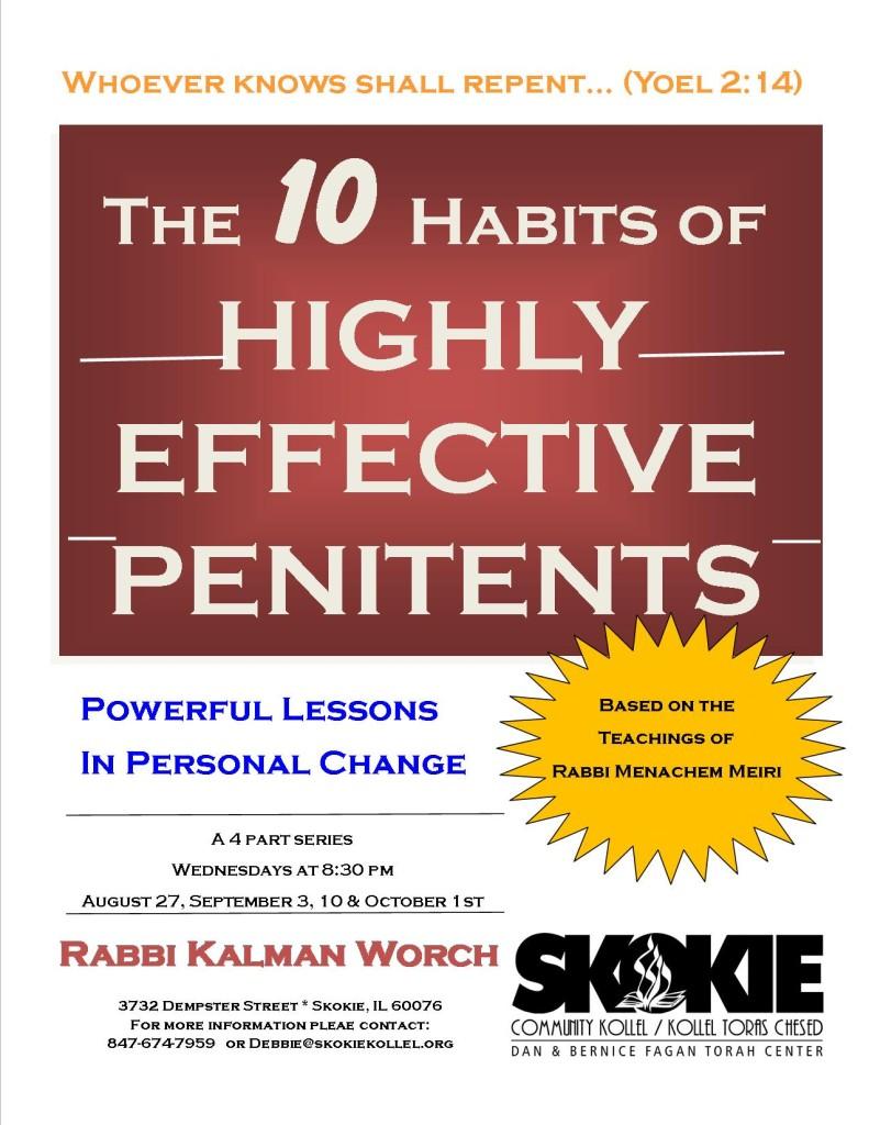 10 habits of--penitents
